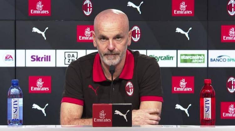 Pioli conferenza stampa Milan Atalanta