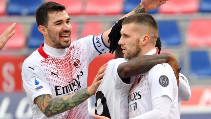 Romagnoli Rebic Milan