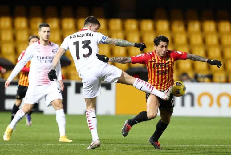 Benevento-Milan classifica