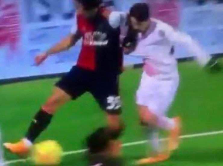 Sottil Brahim Diaz rigore Cagliari Milan