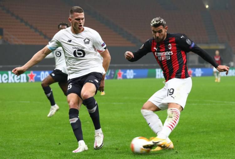 Milan su Botman Lille