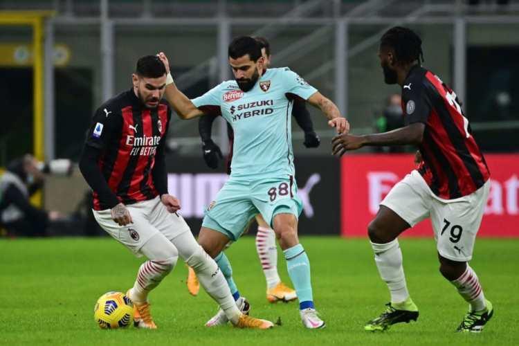 Formazione Cagliari Milan