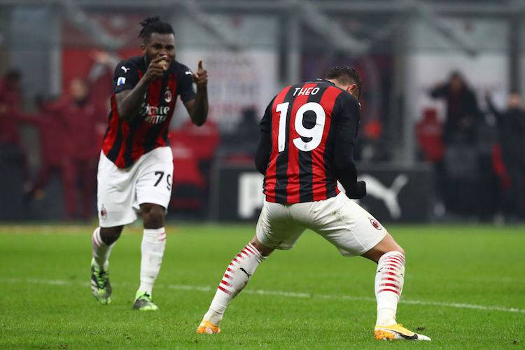 Theo Hernandez e Franck Kessie top11 opta