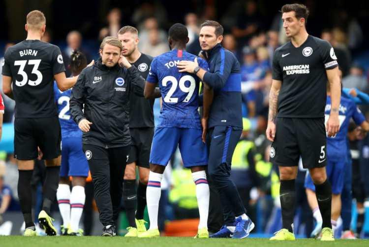 Lampard su Tomori