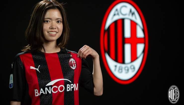 Yui Hasegawa Milan femminile