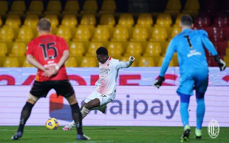 Benevento Milan pagelle