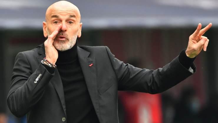 Pioli Milan lista uefa