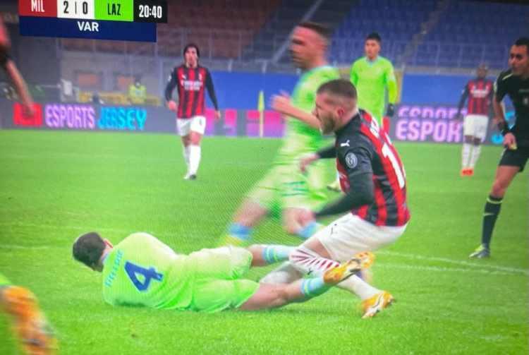 Rigore Milan-Lazio