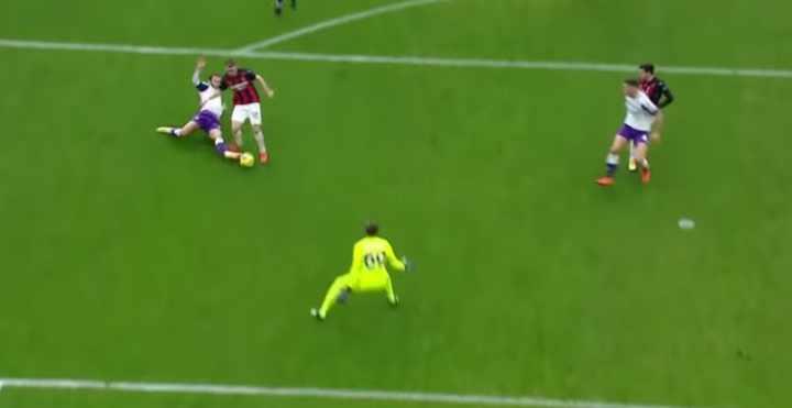 Saelemakers Milan-Fiorentina