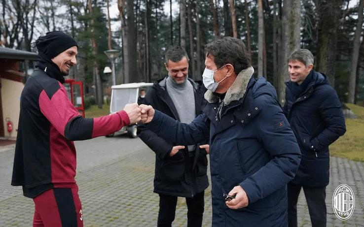 Capello intervista Ibrahimovic