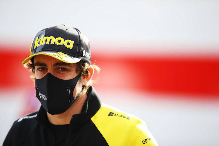 Fernando Alonso incidente