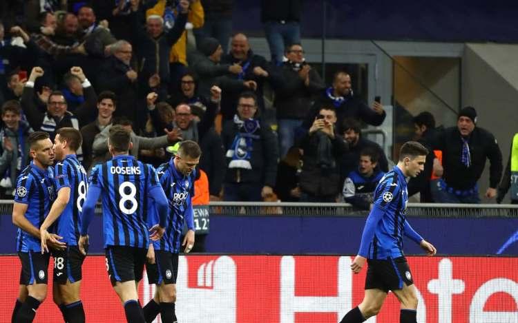 Atalanta in Champions League