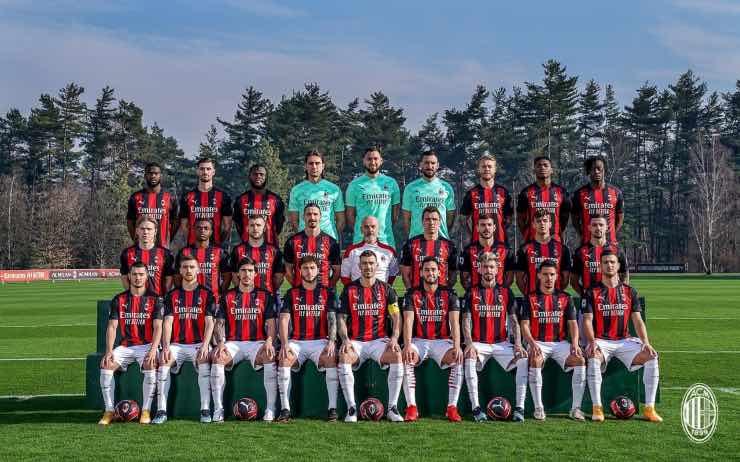 Foto di squadra Milan