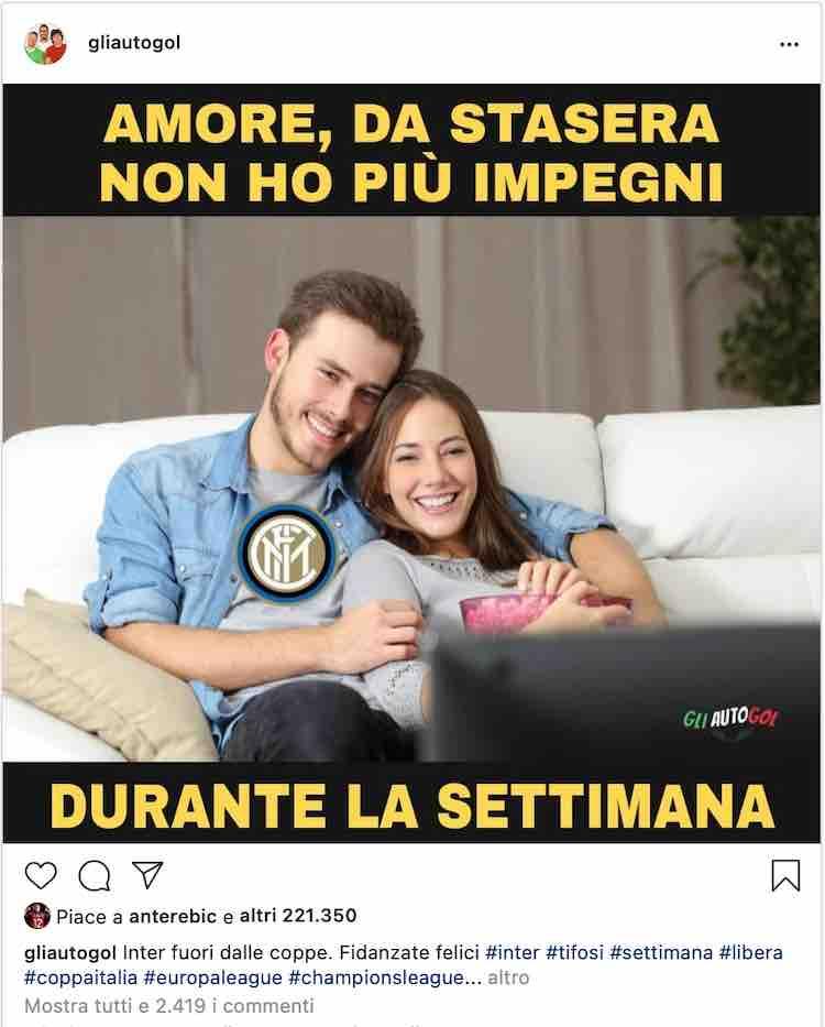 GliAutogol Rebic meme Inter