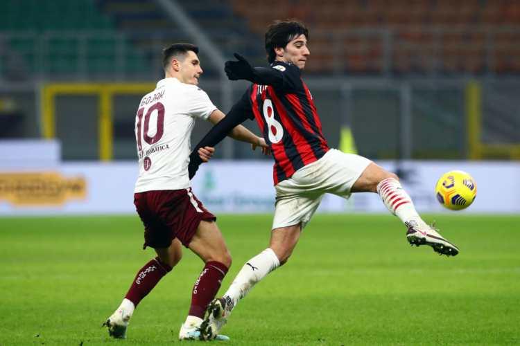 Formazioni Roma-Milan