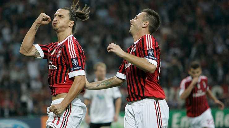 Ibrahimovic Cassano Milan