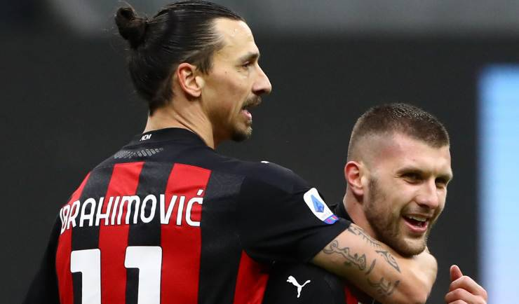 Ibrahimovic Rebic Milan