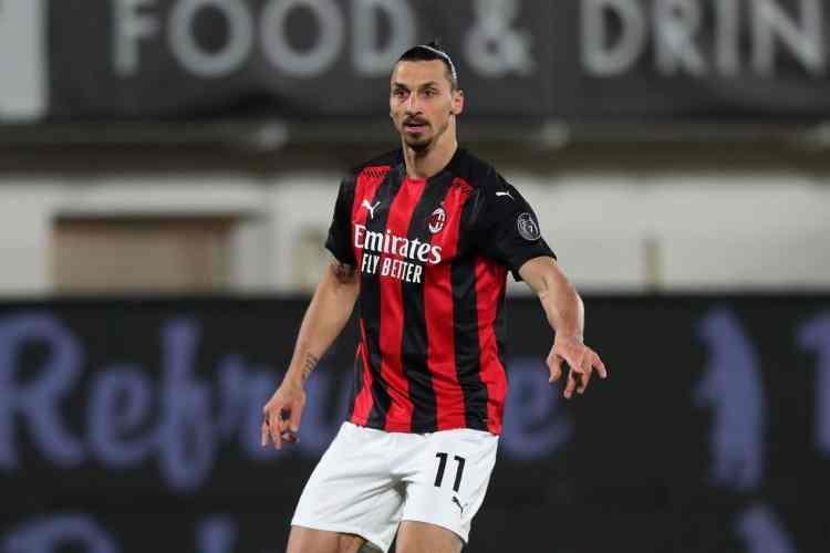 Ibrahimovic Roma-Milan