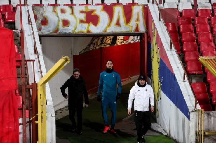 Insulti Ibrahimovic Stella Rossa Milan
