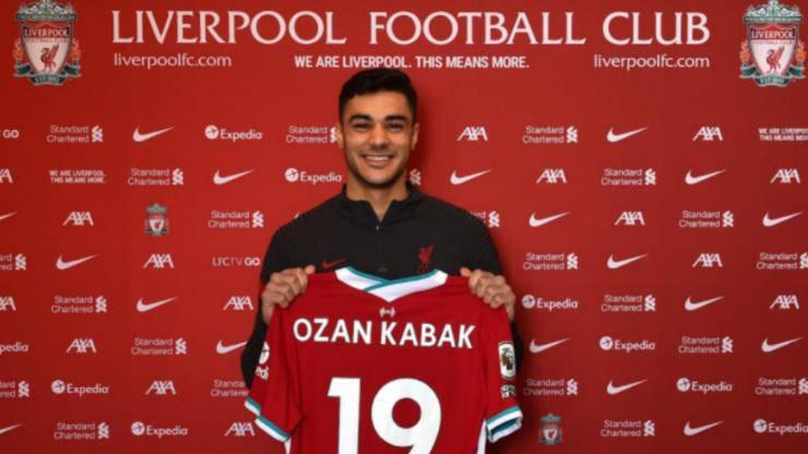 Ozan Kabak Liverpool Milan