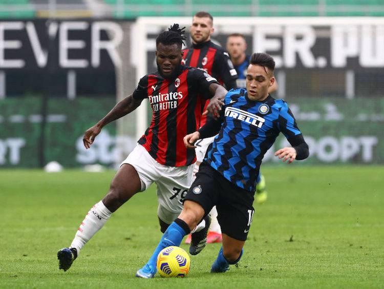 Franck Kessie post Milan-Inter