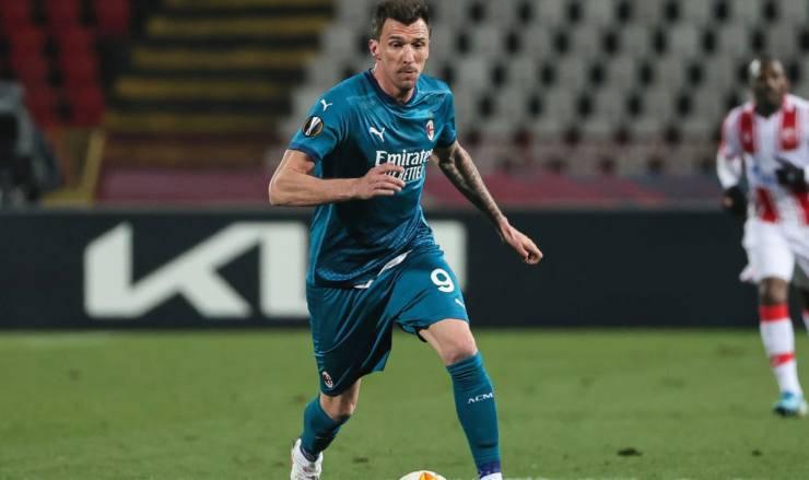 Mario Mandzukic Milan