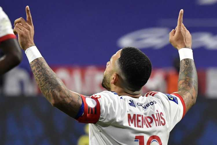 Depay Juve Milan