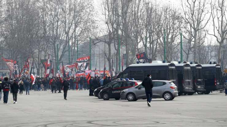 Tifosi Milan Inter San Siro