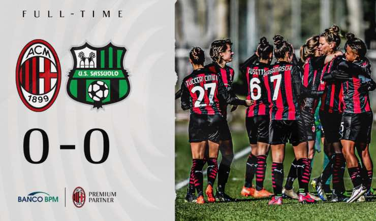 Coppa Italia Milan femminile semifinali