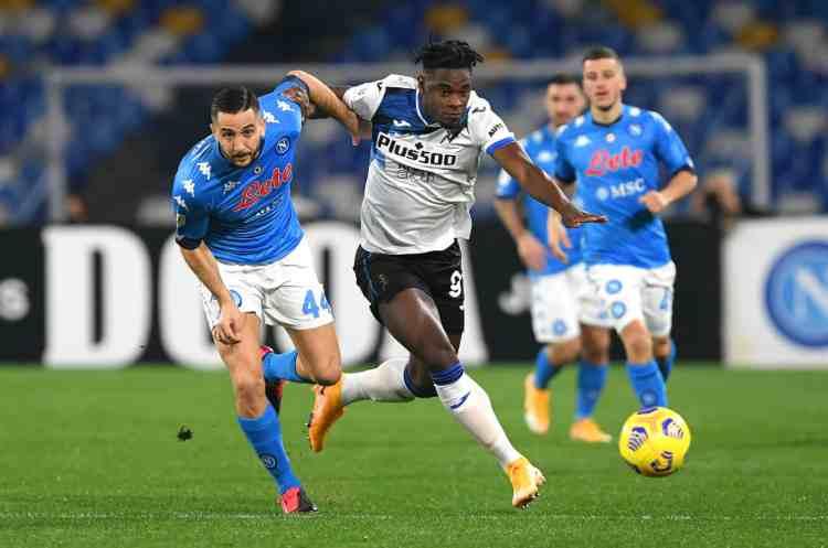 Napoli-Atalanta Coppa Italia