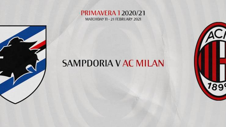 Sampdoria Milan Primavera