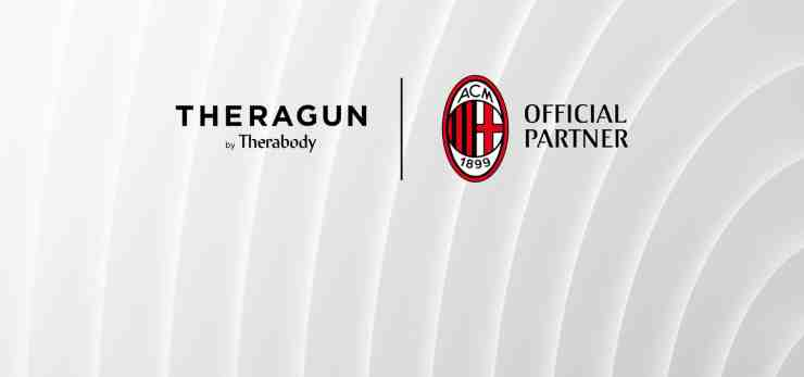 AC Milan e Therabody (foto acmilan.com)
