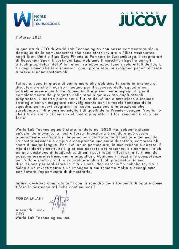 WLT Jucov Milan