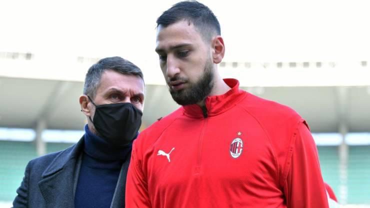 Gigio Donnarumma Paolo Maldini