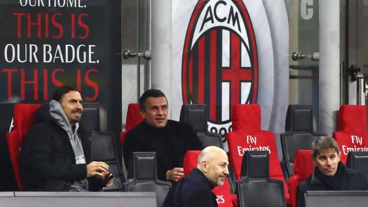 Ibra Maldini Gazidis Massara Milan