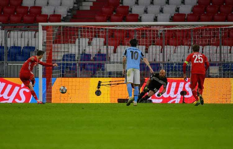 Lewandowski, Bayern Monaco-Lazio