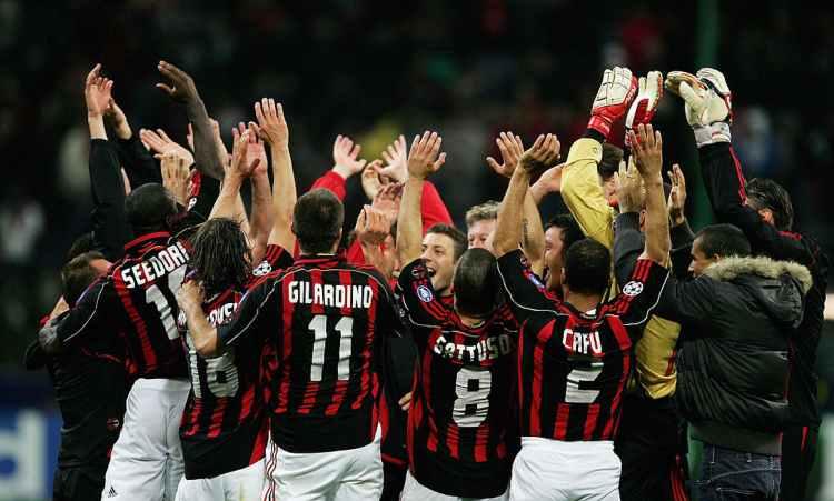 Milan Manchester 2007