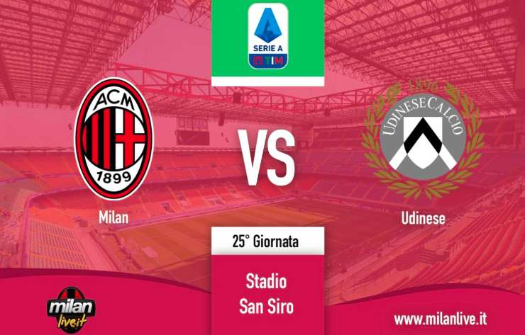 Milan Udinese Live Diretta