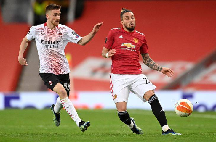 Saelemaekers e Telles, United-Milan