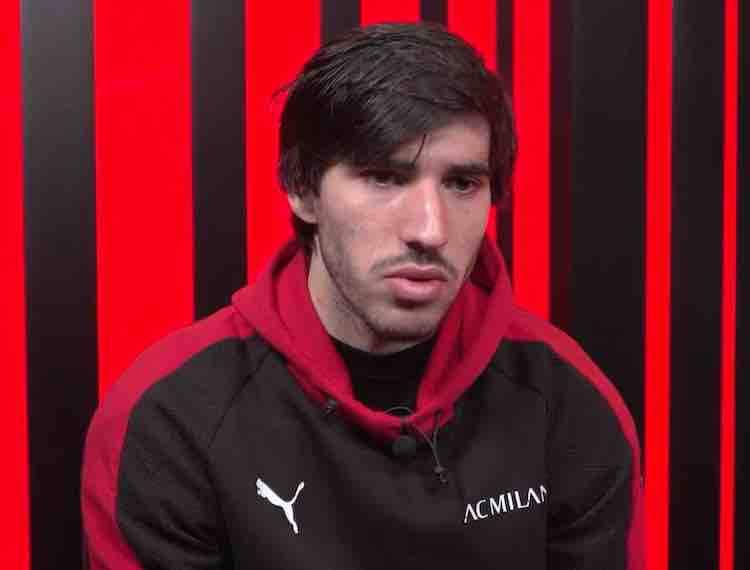 Sandro Tonali a Milan Tv