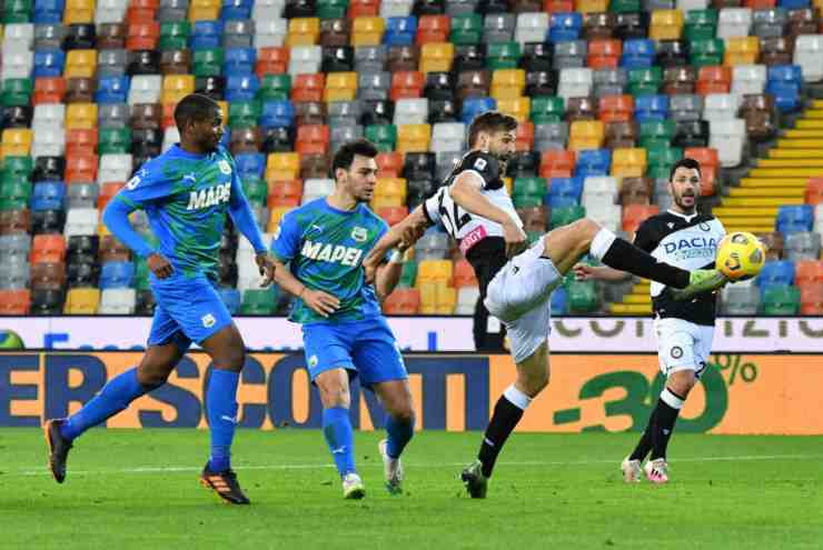 Udinese-Sassuolo (©Getty Images)