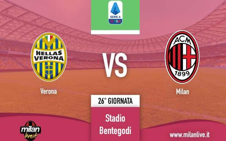 Verona Milan Live Diretta