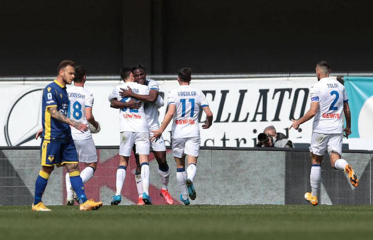 classifica dopo Verona-Atalanta
