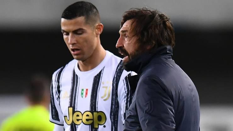 Cristiano Ronaldo Andrea Pirlo