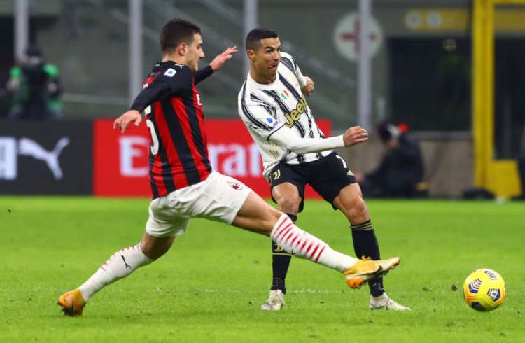 Dalot e Ronaldo