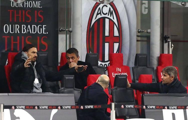 Maldini e Ibrahimovic