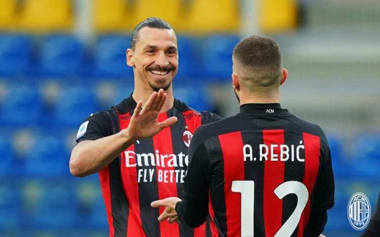 Ibrahimovic e Rebic