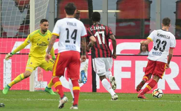 Iemmello Milan-Benevento