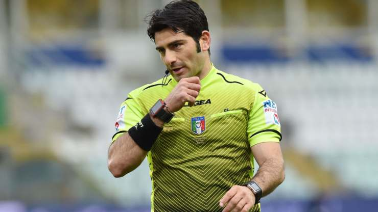 Arbitro Fabio Maresca