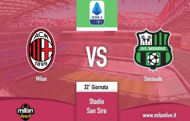 Milan Sassuolo Live